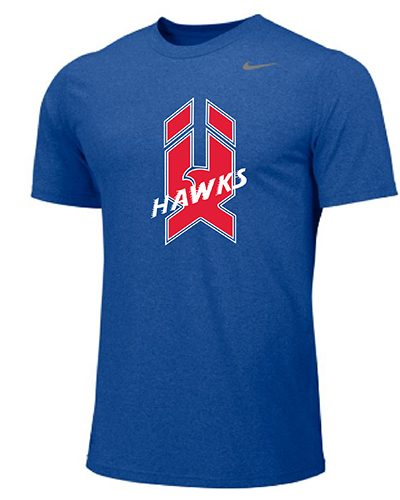 Nike Legend Short Sleeve Blue
