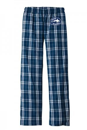 Olive Flannel Pants