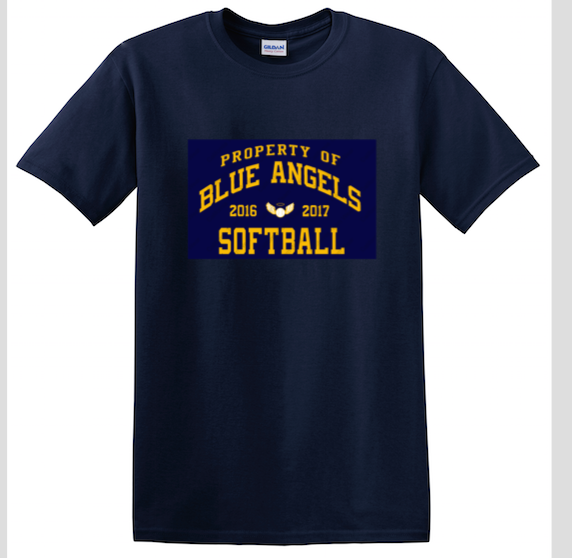 Property Of Blue Angels Adult Tee